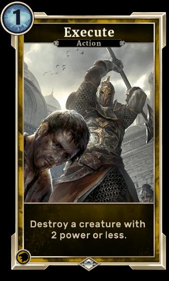 Elder Scrolls Legends Decks Execute