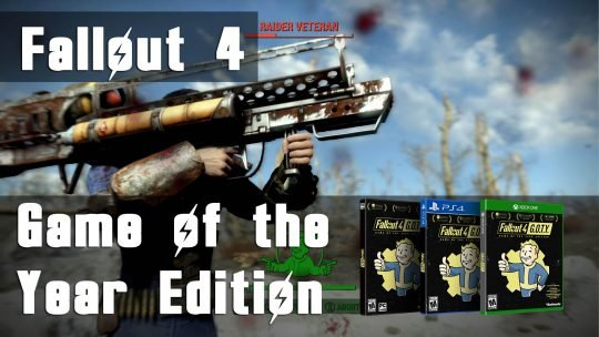 Fallout 4: Game of the Year Edition + Pipboy Collector's Edition Coming September