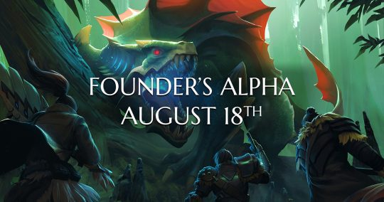 Dauntless Founder's Alpha now live! Join in and play!