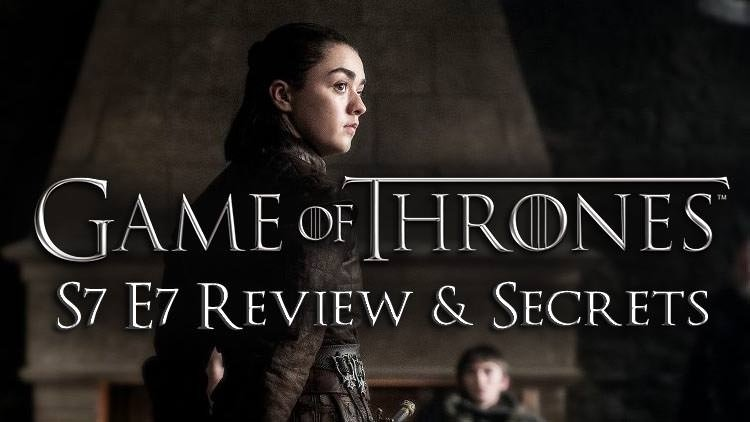 """Game of Thrones S7 E7 – """"The Dragon and The Wolf"""" Review & Secrets"""