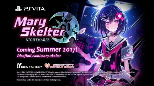 Mary Skelter: Nightmares – Limited Edition Announced!