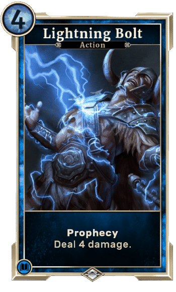 Elder Scrolls Legends Decks Lightning Bolt