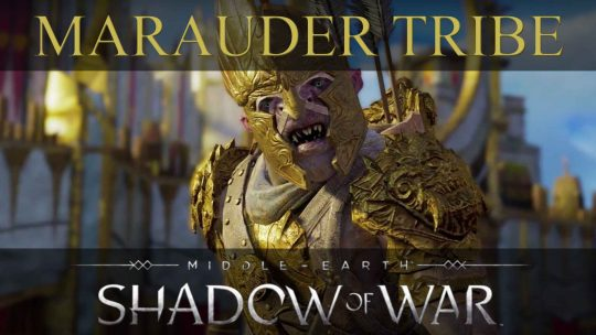 Middle-earth: Shadow of War's Marauder Tribe Got Bling!