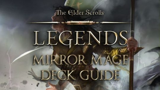 Elder Scrolls Legends Decks: Mage (Mirror Mage)