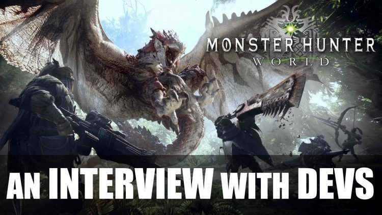 Interview with 'Monster Hunter: World' Devs from Gamescom 2017 !