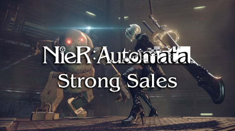 Nier: Automata and Final Fantasy XIV Strong Sales Boost Square Enix