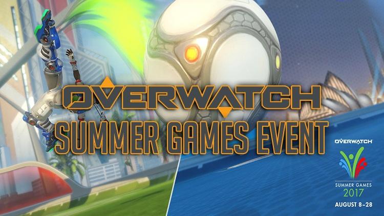 Overwatch Summer Games 2017 Event Begins Next Week