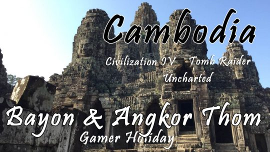 Siem Reap Day 2: Tomb Raider Faces of Bayon & Angkor Thom, The Great City