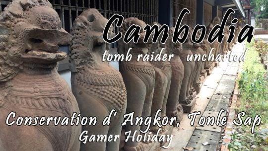 Siem Reap Day 5: Conservation d' Angkor, Tonle Sap Sunset Cruise