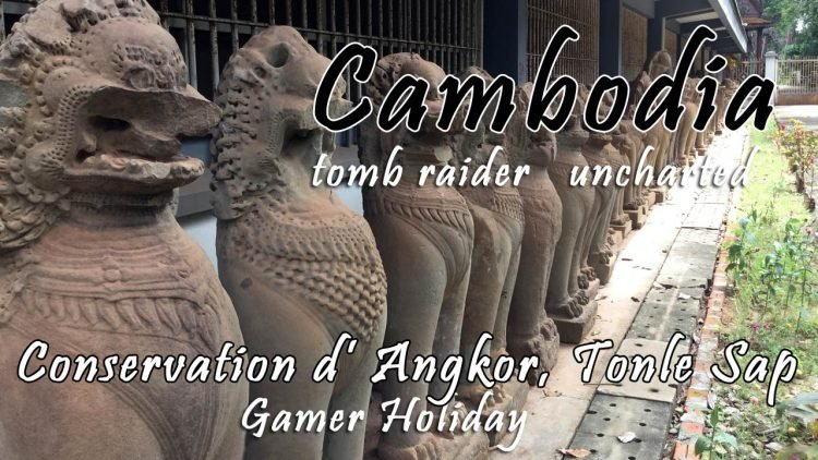 Siem Reap Day 5: Conservation d' Angkor, Tonle Sap Sunset Cruise