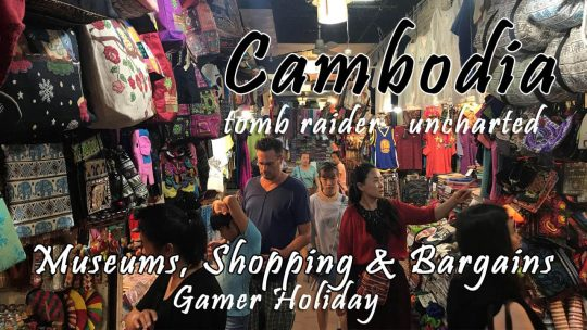 Siem Reap Day 6: Museum, Shopping, Bargaining and a Spiritual Water Blessing