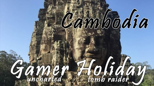 Perfect Gamer Holiday: Siem Reap 7 Day Tour Uncharted Tomb Raider-ing