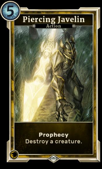Elder Scrolls Legends Decks Piercing Javelin