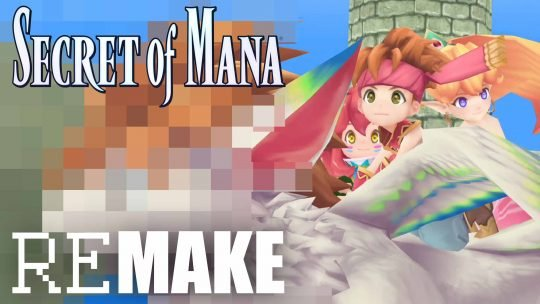 'Secret of Mana' 3D Remake Announced at Gamescom 2017!
