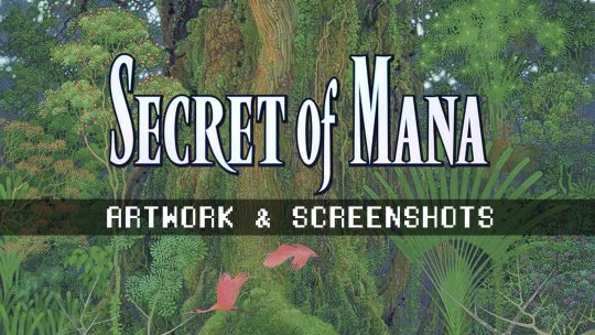New 'Secret of Mana' Screenshots and Artwork!