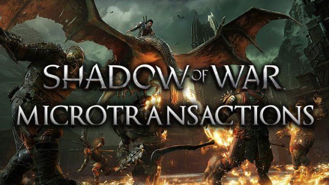 shadow of war microtransactions