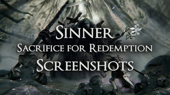 Sinner: Sacrifice for Redemption Releases First Official Screenshots