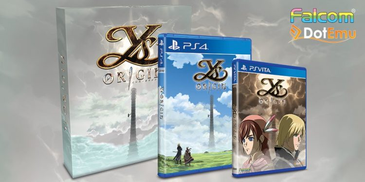 """Ys: Origin"" & ""Asdivine Hearts"" Physical Release Next Friday!"
