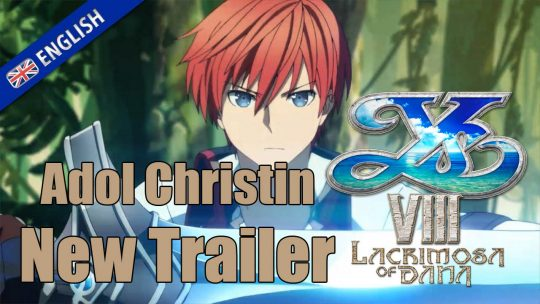 Ys VIII: Lacrimosa of DANA New Trailer: Adol Christin