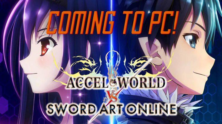 """Accel World VS. Sword Art Online: Millennium Twight"" Logging onto PC!"