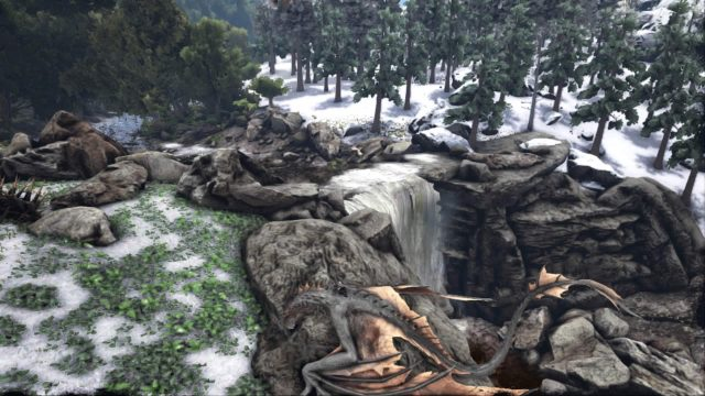 ark-survival-evolved-review-snow