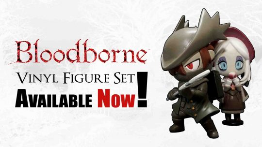 "Bloodborne ""Hunter & Plain Doll"" Figure Set Now Available!"