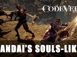 Code Vein Gameplay: Looking more like Dark Souls & Bloodborne