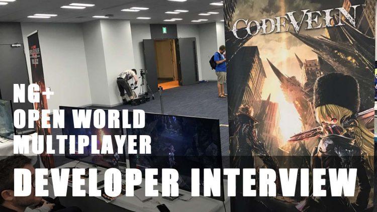 Code Vein Developer Interview reveals Open World, Multiplayer thoughts