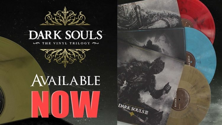 "The Limited ""Dark Souls: The Vinyl Trilogy"" Is Available Now!"