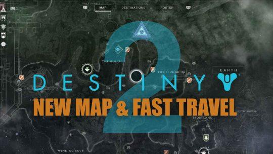 Destiny 2 New Map & Fast Travel!