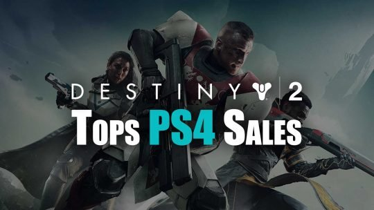 Destiny 2 Dominates PS4 Sales in Japan!