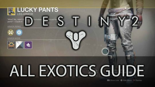 All Exotics in Destiny 2 and How to Get Them