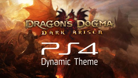 Check Out Dragon's Dogma: Dark Arisen's PS4 Dynamic Theme!