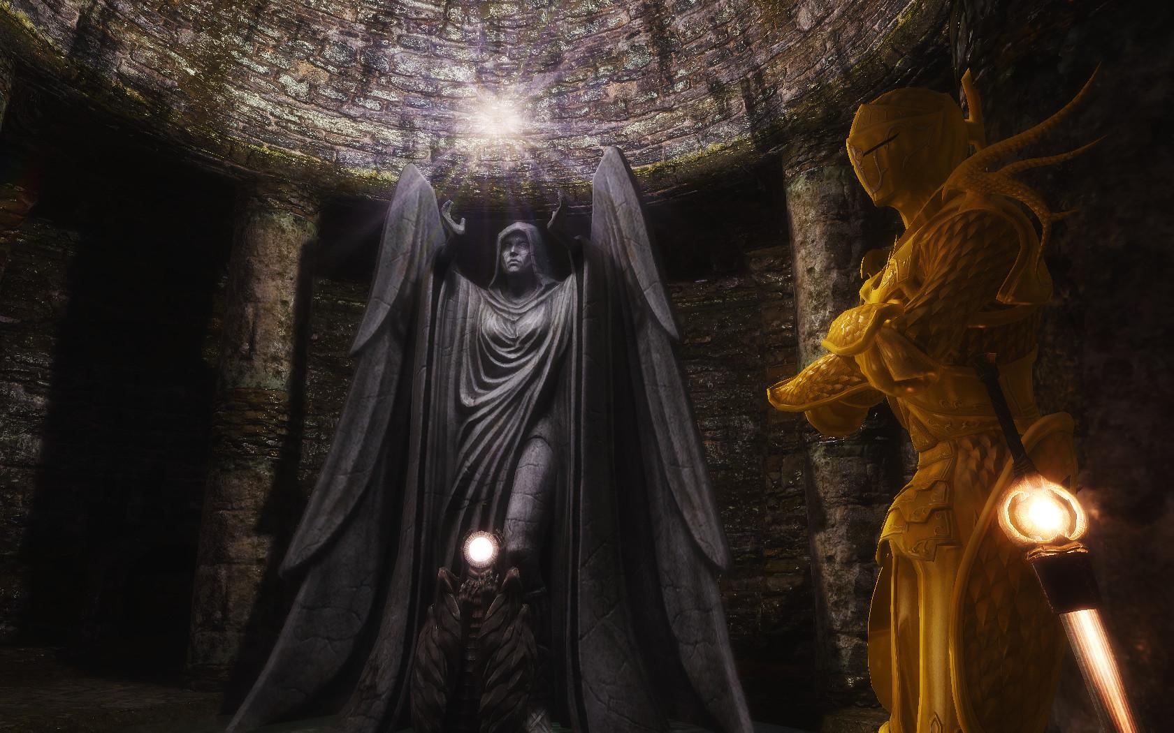 Dark Souls Visits Tamriel In Elder Scrolls V Skyrim Mod Fextralife