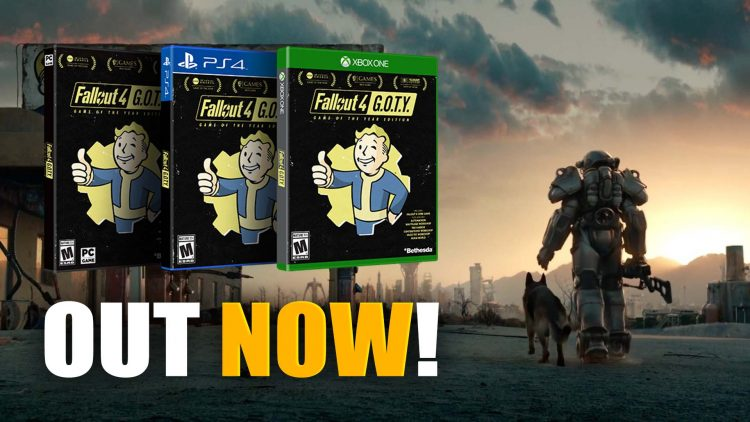 Fallout 4: GOTY & Pip-Boy Collector's Editions Out Now!