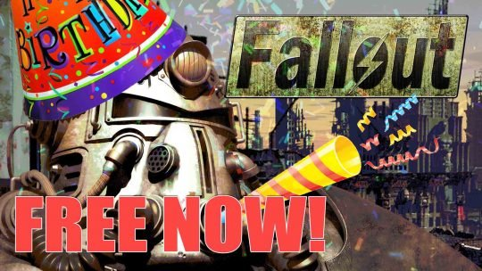 Original Fallout Game FREE On Steam Now!!