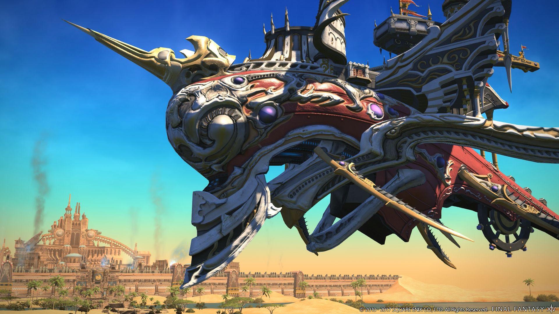 New Screenshots Of Quot Final Fantasy Xiv The Legend Returns