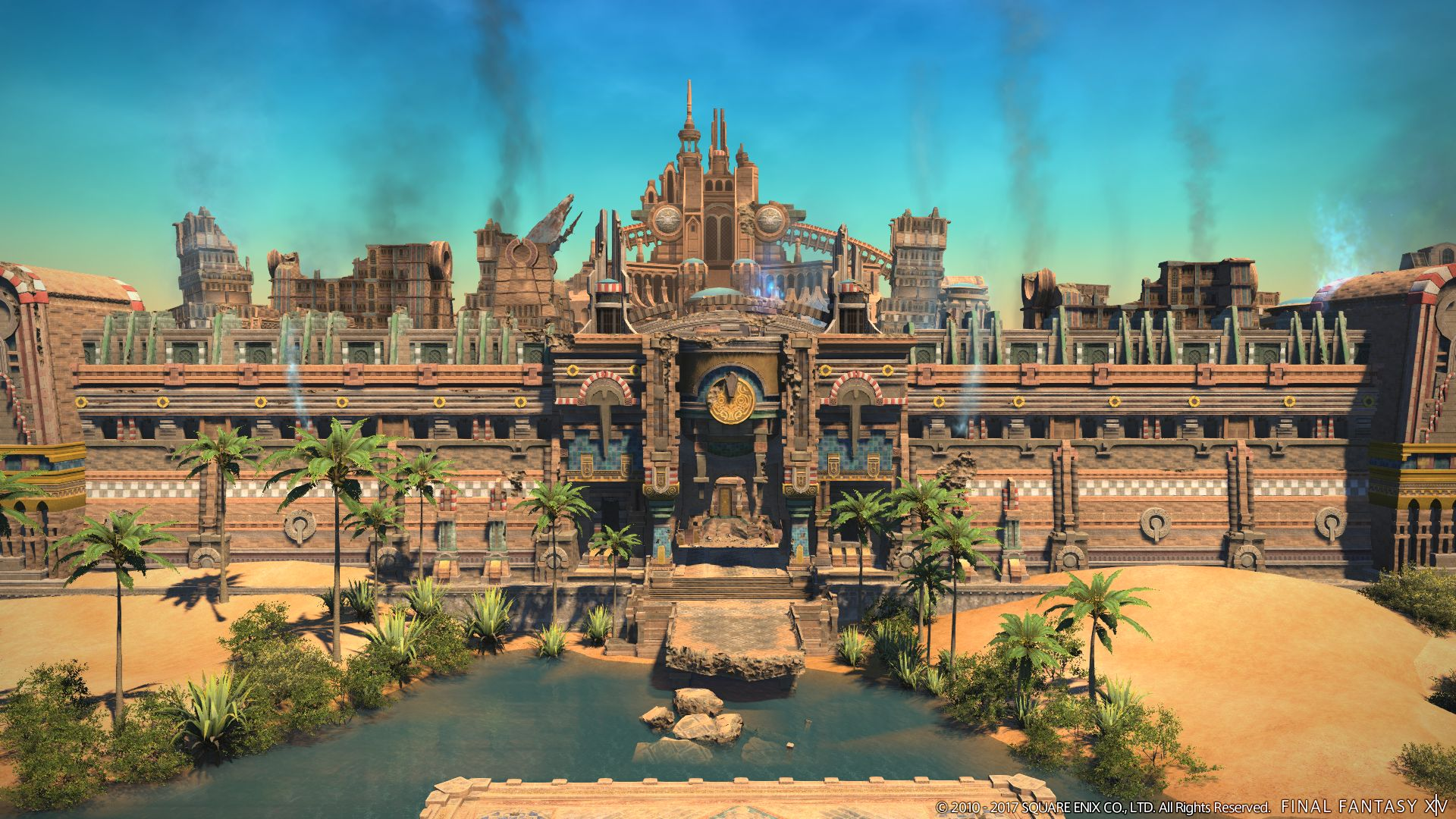 New screenshots of final fantasy xiv the legend returns for 4 1 architecture view