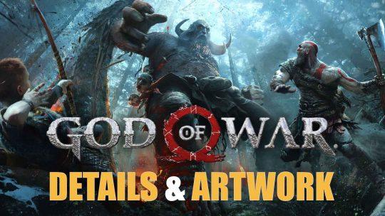 Upcoming God of War Concept Artwork & Game Details!
