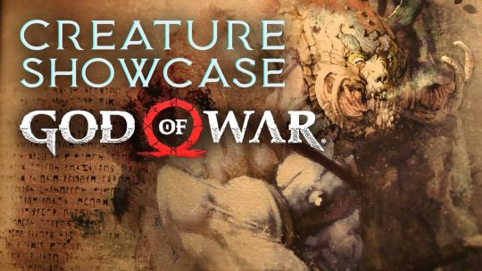 GOD OF WAR Creature Showcase: The Blazing Troll