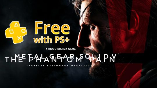 """Metal Gear Solid V: The Phantom Pain"" Free For PS+ Subscribers In October!"