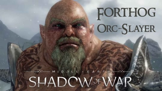 "DLC ""Forthog Orc-Slayer"" in Honor of Shadow of War Developer"