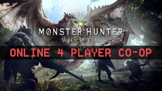 Monster Hunter: World Multiplayer Gameplay Reveal!