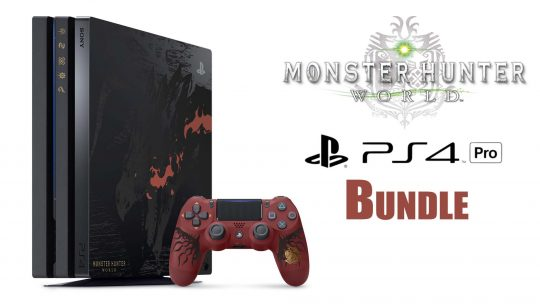 "Check Out The Monster Hunter: World PS4 Pro ""Liolaeus Edition"" Bundle! TGS 2017"