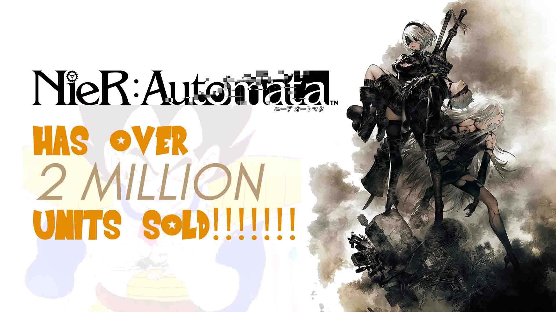 nier-automata-2-million-sales-platinum-games-square-enix-playstation-4-ps4-pc-steam-rpg-jrpg-arpg-action