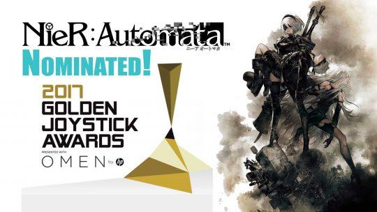 """""""Nier: Automata"""" Nominated At Golden Joystick Awards 2017!"""