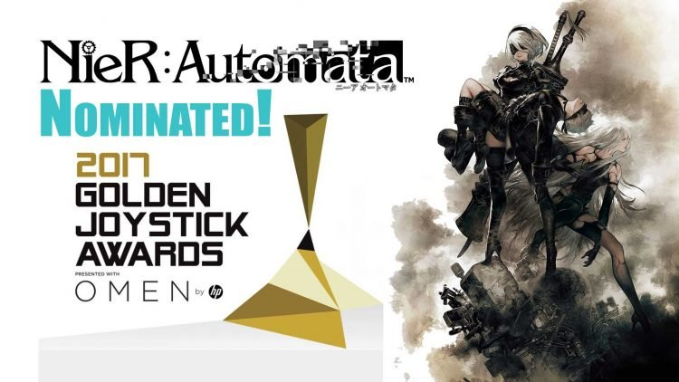 """Nier: Automata"" Nominated At Golden Joystick Awards 2017!"