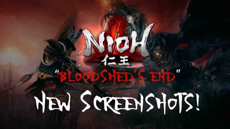 """Nioh: Bloodshed's End"" DLC New Screenshots & Game Sale!"