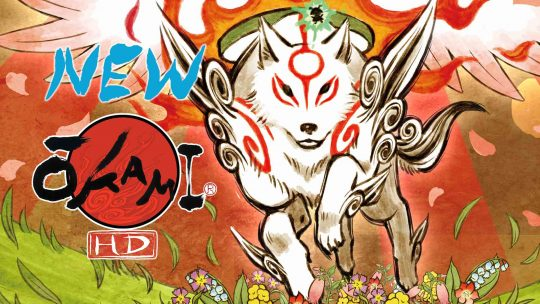 "Capcom Announces Re-remaster: ""Okami HD"""