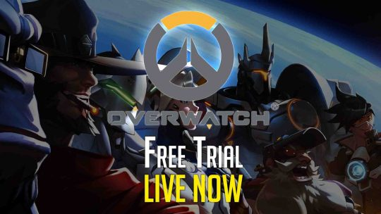 """Overwatch"" Free Weekend Starts Now!"